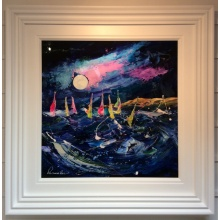 Moonlit Regatta by Rozanne Bell