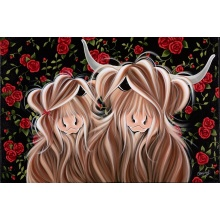 My Love For Moo Blooms by Jennifer Hogwood
