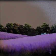 Purple Fields by John Russell