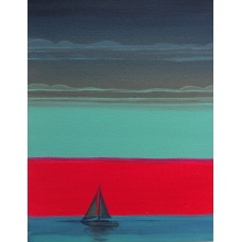 Sunset Sails by Katie Bell