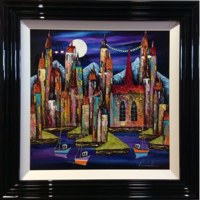 Our Vibrant City III by Rozanne Bell